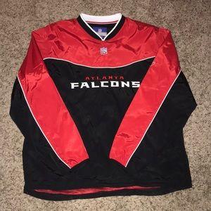 Atlanta Falcons wind breaker NWOT